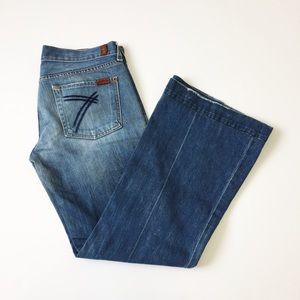 7 for all Manking Mid Rise DoJo Jeans